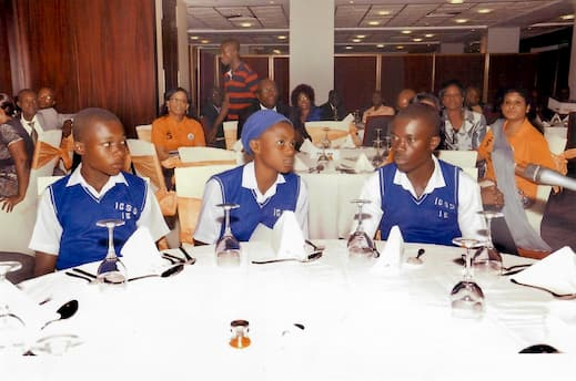 Cross section of students at the mentoring session