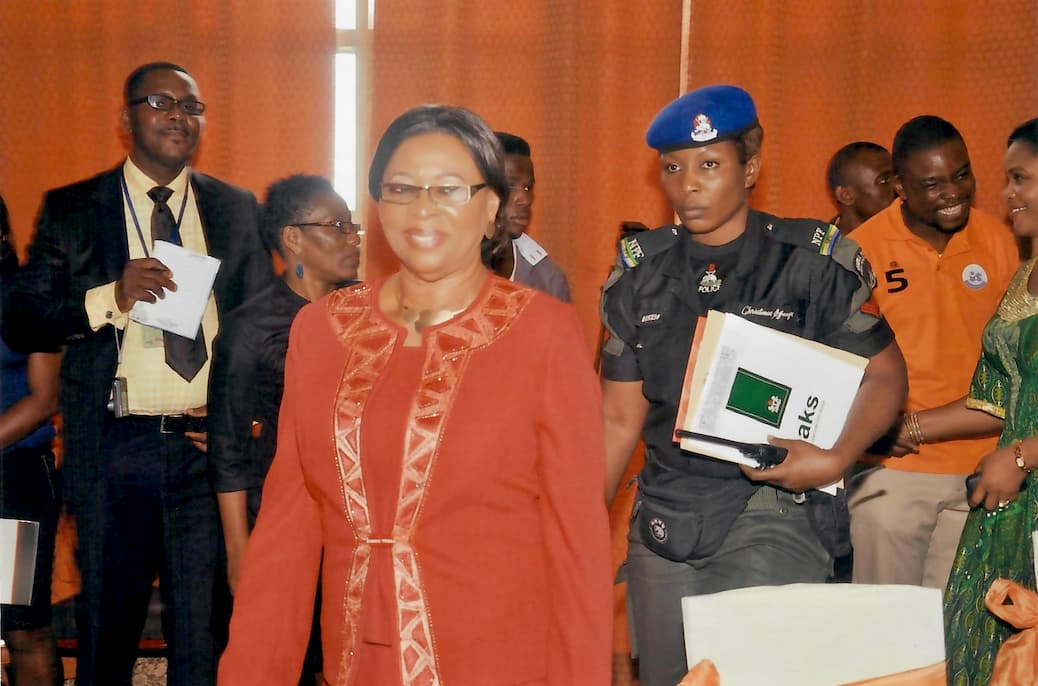 Valerie Ebe, Deputy Governor of Akwa Ibom State at the Event