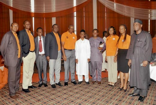 Organisers of the Event with The Guest Speaker