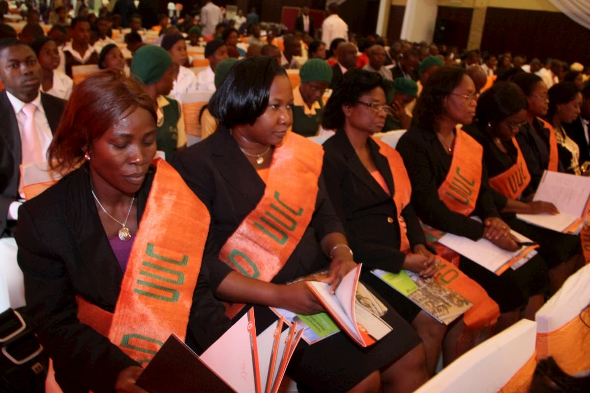 Representatives of the Organization for Women in Science for the Developing World, University of Uyo Branch