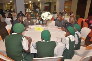 An interactive session during the mentoring program