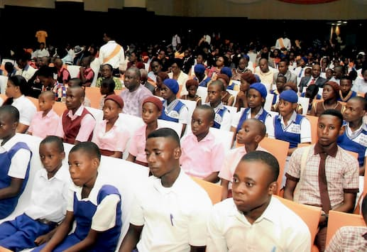 Cross section of students at the 2015 Award Ceremony