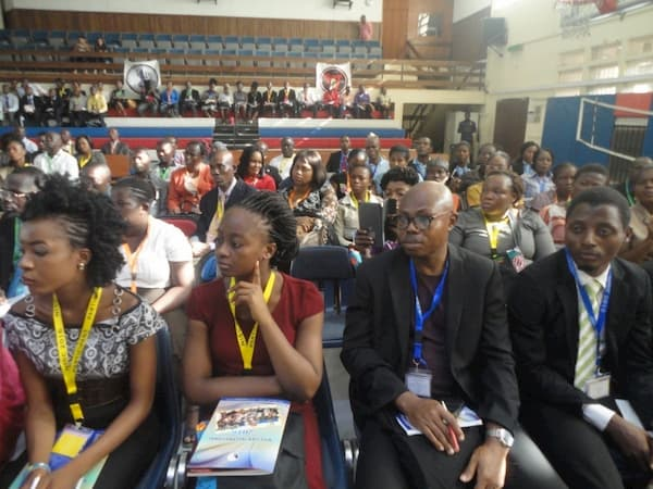 A cross section of guests at the awards ceremony