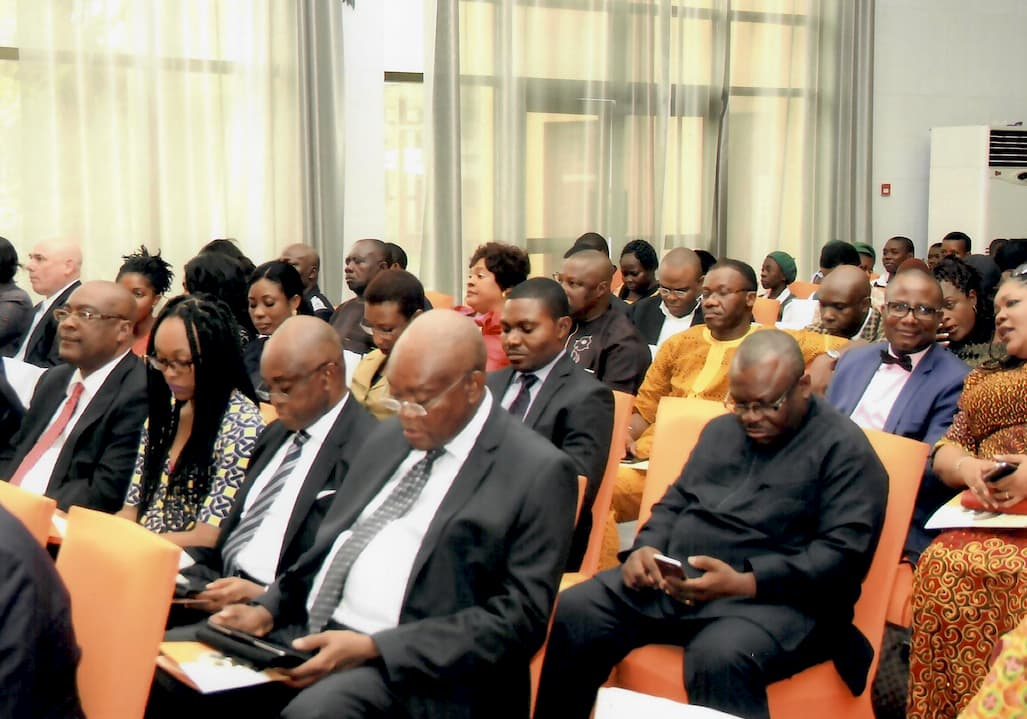Cross Section of guest at the Inoyo Toro Foundation 2015 Award ceremony