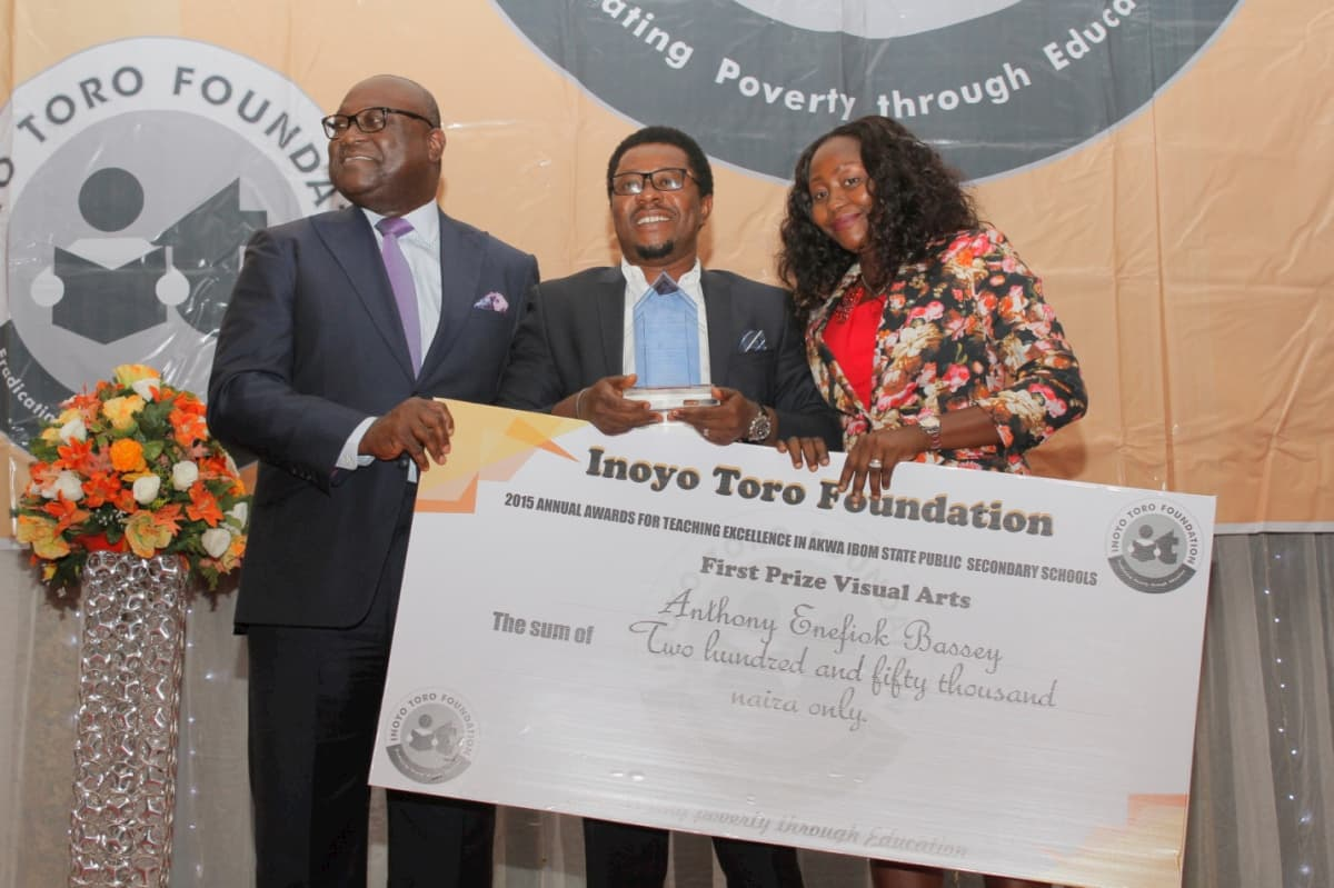 First Prize in Visual Arts - Anthony Enefiok Bassey
