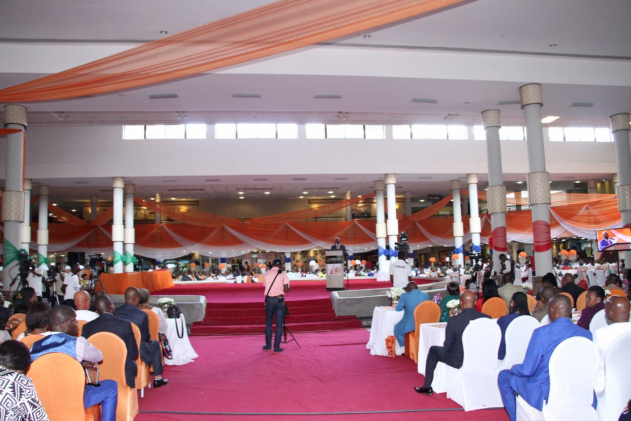 A CROSS SECTION OF THE 10TH ANNIVERSARY CELEBRATION