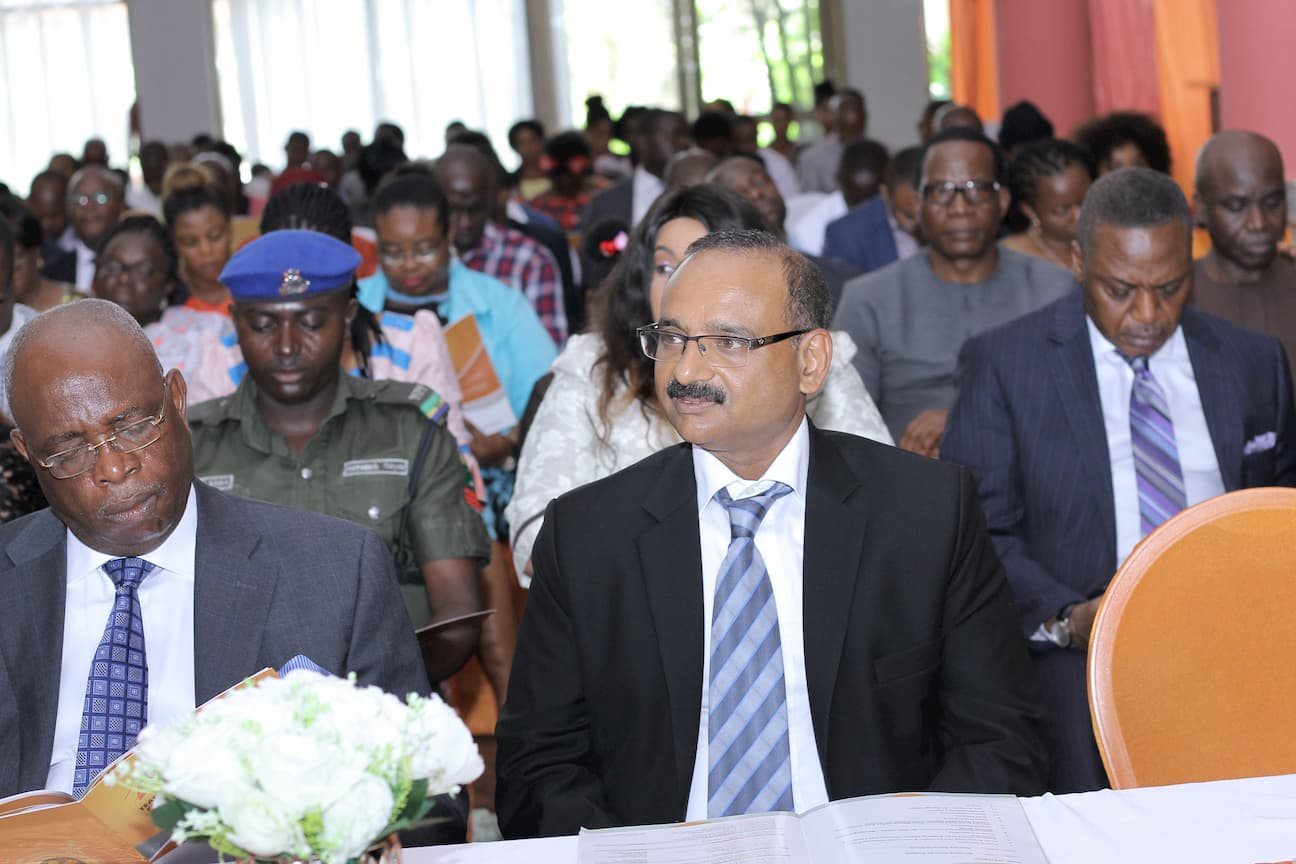 MR AJAYA SIVAN DEPUTY MANAGING DIRECTOR DESICON GROUP REPRESENTING THE CHAIRMAN OF THE EVENT MR AKAN UDOFIA