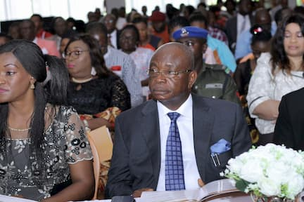 MR ETEKAMBA UMOREN, THE SECRETARY TO THE STATE GOVERNMENT REPRESENTING THE EXECUTIVE GOVERNOR OF AKWA IBOM STATE