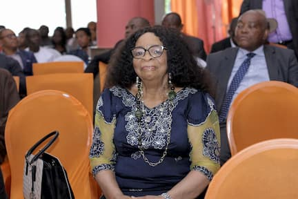 MRS ADIAGHA UKO INOYO MOTHERINLAW TO THE CHAIR PERSON ITF BOARD OF TRUSTEES