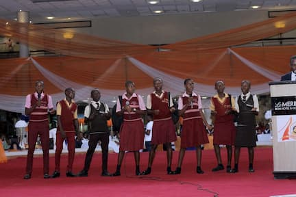 STUDENTS OF OUR PUBLIC SCHOOLS DURING A PERFORMANCE