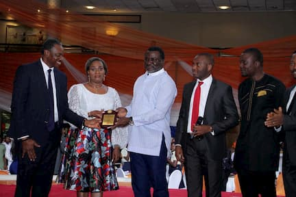 THE FOUNDERS OF  INOYO TORO FOUNDATION BEING HONOURED AND ASKED TO TAKE THE VISION BEYOND AKWA IBOM STATE