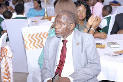 DR DOMINIC UKPONG A LONG STANDING MENTOR WITH THE FOUNDATION
