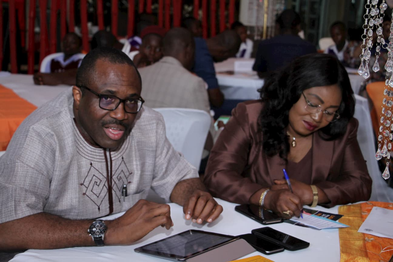 MR IDORENYIN ENANG AND WIFE - MENTORS WITH THE FOUNDATION