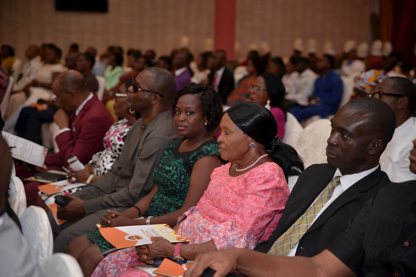 A cross section of guest at the 11th Anniversary