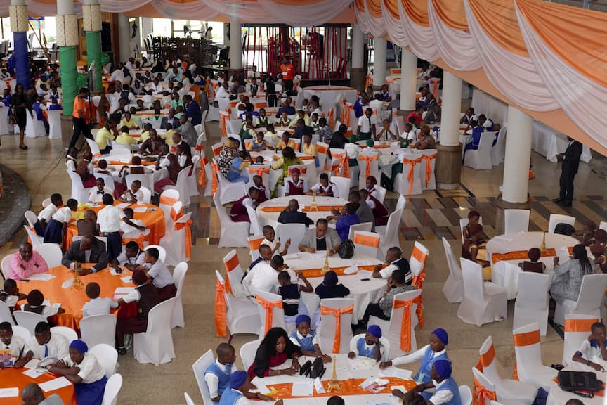 Cross Section of Students during the Mentoring Clinic