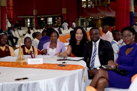 Offiong Umoh Offiong during the mentoring session