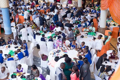 A cross section of the mentoring session