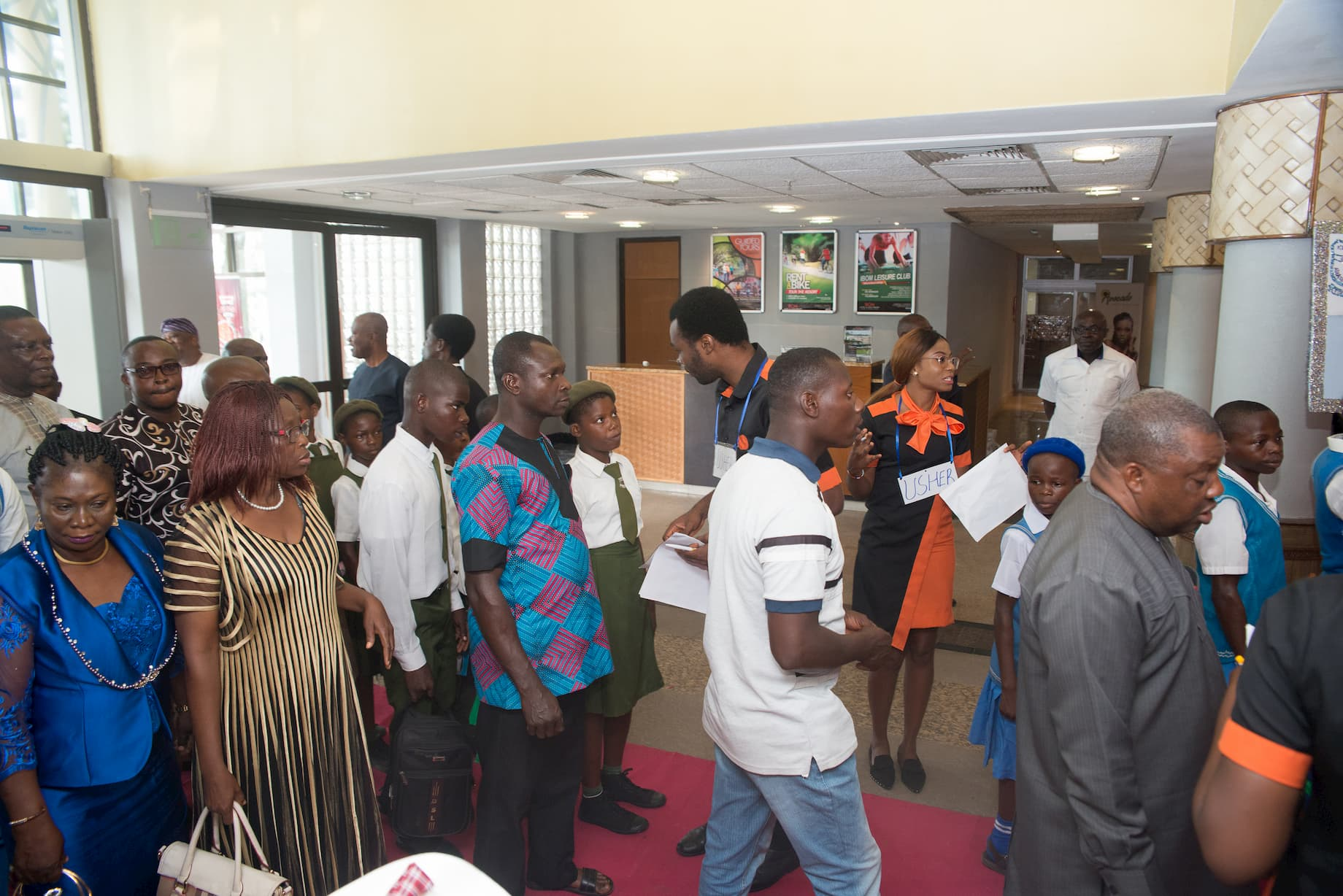 Arrival of guests to the 12th ITF Teacher's Award for Excellence Event