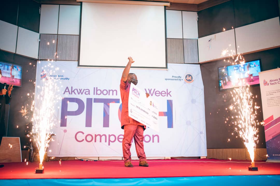 Inoyo Toro Foundation Sponsored 2021 #AKITECH Pitch Competition Ends in Glamour poster