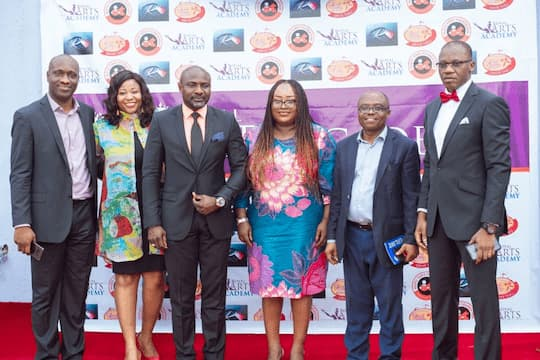 L-R Barr Abasumo Bassey Mrs Imo Bassey Mr Orman Esin Mrs Emem Isong Misodi Mr Tony Esu and Mr Charles Udoh