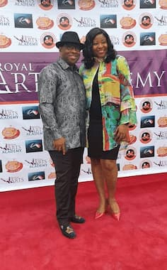 Mrs Imo Bassey and Mr Aniekan Willie representing the Foundation